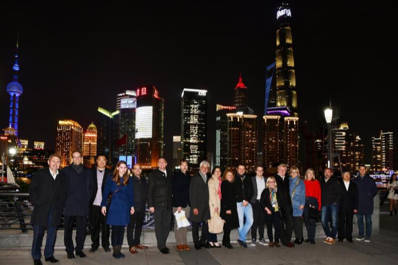 Netzwerk Hessen-China Delegation in Shanghai