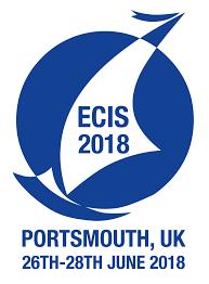 (Logo: ECIS 2018: Design by Marina Shideroff)