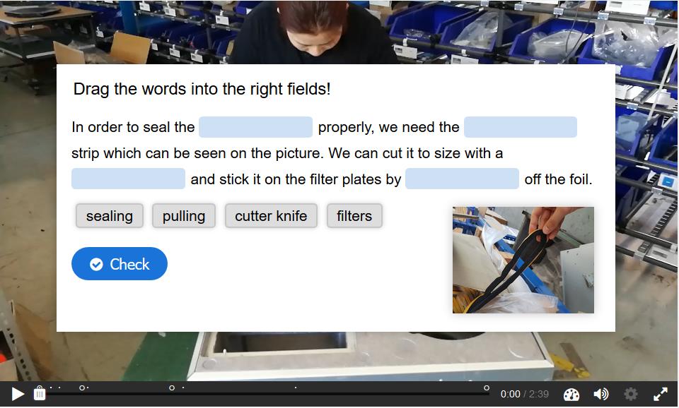 Entwicklung von interaktiven Lernvideos